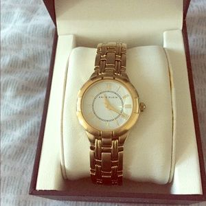 Anne Klein gold watch